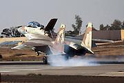 Israeli Air force F-15I Fighter jet landing