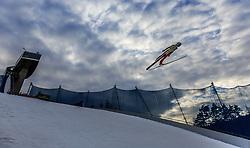 02.01.2016, Bergisel Schanze, Innsbruck, AUT, FIS Weltcup Ski Sprung, Vierschanzentournee, Qualifikation, im Bild Simon Ammann (SUI) // Simon Ammann of Switzerland during his Qualification Jump for the Four Hills Tournament of FIS Ski Jumping World Cup at the Bergisel Schanze, Innsbruck, Austria on 2016/01/02. EXPA Pictures © 2016, PhotoCredit: EXPA/ JFK