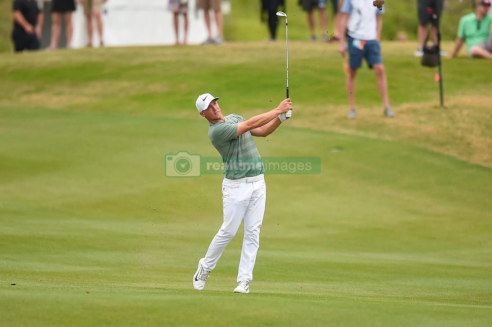 March 24, 2018 - Austin, TX, U.S. - AUSTIN, TX - MARCH 24: Alex Noren watches his shot during the Round of 16 for the WGC-Dell Technologies Match Play on March 24, 2018 at Austin Country Club in Austin, TX. (Photo by Daniel Dunn/Icon Sportswire) (Credit Image: © Daniel Dunn/Icon SMI via ZUMA Press)
