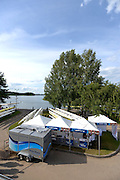 Trackai. LITHUANIA. World Rowing,  Merchandise/ retail in the general boating and boat storage area.   2012 FISA U23 World Rowing Championships,   17:47:27 {dow], {date} [Mandatory Credit: Peter Spurrier/Intersport Images]..Rowing. 2012. U23.