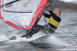 Image Credit Marc Turner.RSX, 956, Saskia SILLS, Roadford.Day 4, RYA Youth National Championships 2013 held at Largs Sailing Club, Scotland from the 31st March - 5th April. .
