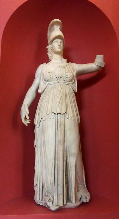 Athena, statue