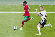 Nelson Semedo of Portugal and Toni Kroos of Germany during the UEFA Euro 2020, Group F football match between Portugal and Germany on June 19, 2021 at Allianz Arena in Munich, Germany - Photo Andre Weening / Orange Pictures / ProSportsImages / DPPI
