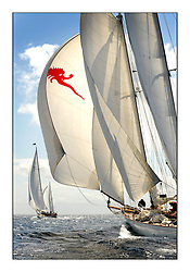 Day five of the Fife Regatta, Race from Portavadie on Loch Fyne to Largs. <br /> <br /> Astor, Richard Straman, USA, Schooner, Wm Fife 3rd, 1923<br /> <br /> <br /> * The William Fife designed Yachts return to the birthplace of these historic yachts, the Scotland's pre-eminent yacht designer and builder for the 4th Fife Regatta on the Clyde 28th June–5th July 2013<br /> <br /> More information is available on the website: www.fiferegatta.com