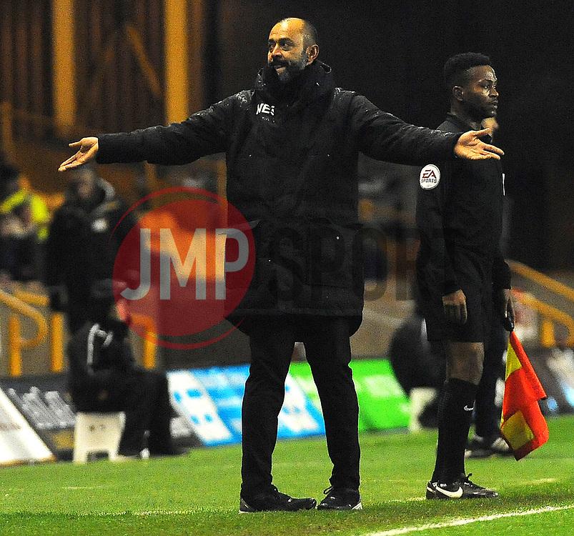 Wolverhampton Wanderers manager Nuno -Mandatory by-line: Nizaam Jones/JMP - 02/01/2018 - FOOTBALL - Molineux - Wolverhampton, England- Wolverhampton Wanderers v Brentford -Sky Bet Championship