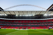 general shot of the stadium before the FIFA World Cup Qualifier match between England and Slovenia at Wembley Stadium, London, England on 5 October 2017. Photo by Sebastian Frej.