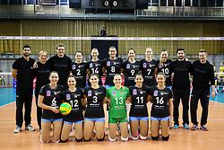 26-11-2015 SLO: Champions League Calcit Ljubljana - VakifBank Istanbul, Ljubljana<br /> Team Calcit Ljubljana <br /> <br /> ***NETHERLANDS ONLY***