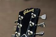 Neerland, Groesbeek, 18-2-2018Op de gitaarbeurs staat een Gibson . Het merk is bijn failliet .Foto: Flip Franssen