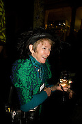 JEAN MOORCROFT WILSON, Orion Publishing Group Author Party. V & A. London. 18 February 2009.  *** Local Caption *** -DO NOT ARCHIVE -Copyright Photograph by Dafydd Jones. 248 Clapham Rd. London SW9 0PZ. Tel 0207 820 0771. www.dafjones.com<br /> JEAN MOORCROFT WILSON, Orion Publishing Group Author Party. V & A. London. 18 February 2009.