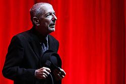 Oct. 4, 2008 - Berlin, Berlin, Germany - Leonard Cohen performs at the O2 Arena, Berlin (Credit Image: © Future-Image/ZUMApress.com)