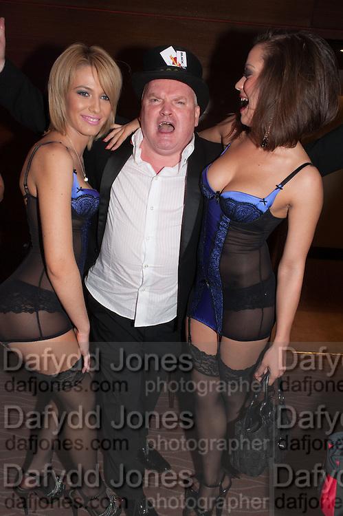 ANYA DASCALU; TOMMY MACK; FRANKIE MAFTEI, London Bar & Club Awards.  Annual awards honouring the best of London nightlife, InterContinental Hotel, Park Lane, London, 12 June 2012.