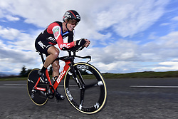 March 7, 2018 - Saint Etienne, France - SAINT-ETIENNE, FRANCE - MARCH 7 : ROCHE Nicolas  (IRL)  of BMC Racing Team in action during stage 4 of the 2018 Paris - Nice cycling race, an individual time trial over 18,4 km from La Fouillouse to Saint-Etienne on March 07, 2018 in Saint-Etienne, France, 7/03/2018 (Credit Image: © Panoramic via ZUMA Press)