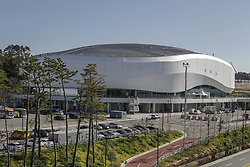 October 30, 2017 - Pyeongchang, Gangwon, South Korea - Oct 30, 2017-Pyeongchang, South Korea-A Shows Gangneung Ice Arena in Gangneung, South Korea. The facility will be used for figure skating and short track speed skating in the Pyeongchang Winter Olympics in February 2018. (Credit Image: © Ryu Seung Il via ZUMA Wire)
