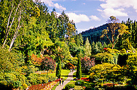 The Butchart Gardens, Victoria, Vancouver Island, British Columbia, Canada