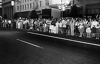 """1979 Fans outside the premiere of """"Hurricane"""" at Mann's Chinese Theater"""