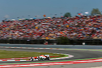 MOTORSPORT - F1 2013 - GRAND PRIX OF SPAIN / GRAND PRIX D'ESPAGNE - BARCELONA (ESP) - 10 TO 12/05/2013 - PHOTO : JEAN MICHEL LE MEUR / DPPI - DI RESTA PAUL (GBR) - FORCE INDIA VJM06 - ACTION