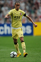 25-04-2010 VOETBAL: AJAX - FEYENOORD: AMSTERDAM<br /> De eerste wedstrijd in de bekerfinale is gewonnen door Ajax met 2-0 / Karim El Ahmadi<br /> ©2009-WWW.FOTOHOOGENDOORN.NL