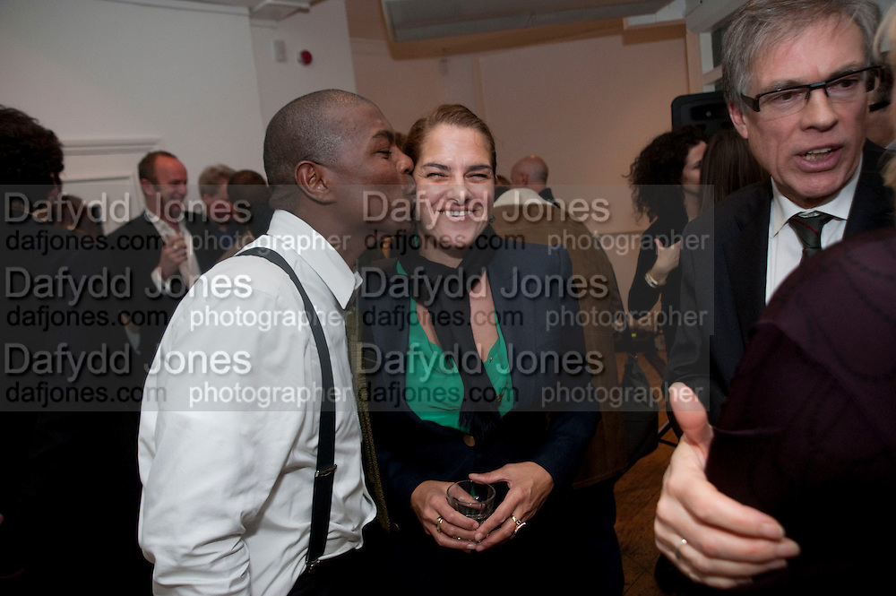 TRACEY EMIN, The  launch of Johnnie Shand Kydd's book Siren City. ( Photographs of Naples) Claire<br /> de Rouen books published  by Other Criteria. Charing Cross Rd. London. 30 November 2009