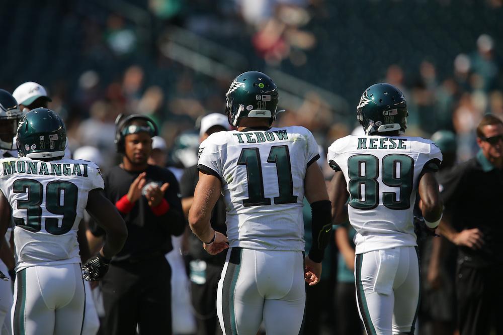 Tim Tebow, 2015 Eagles Preseason - Philadelphia Eagles vs Indianapolis Colts at Lincoln Financial Field