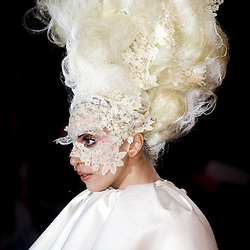 Mandatory Credit: Photo by Paul Grover /  <br /> Lady Gaga<br /> The Brit Awards 2010 Arrivals, Earls Court, London, Britain - 16 Feb 2010