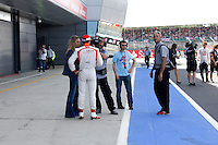 MOTORSPORT - F1 2013 - BRITISH GRAND PRIX - GRAND PRIX D'ANGLETERRE - SILVERSTONE (GBR) - 28 TO 30/06/2013 - PHOTO : FREDERIC LE FLOC'H / DPPI - ILLUSTRATION MEDIA CANAL PLUS WITH JULES BIANCHI / MARUSSIA F1 TEAM