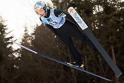 February 7, 2019 - Ljubno, Savinjska, Slovenia - Julia Kykkaenen of Finland competes on qualification day of the FIS Ski Jumping World Cup Ladies Ljubno on February 7, 2019 in Ljubno, Slovenia. (Credit Image: © Rok Rakun/Pacific Press via ZUMA Wire)