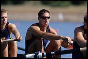 Sydney, AUSTRALIA,  USA  M8+, Dave SIMON,   . 2000 Olympic Regatta, West Lakes Penrith. NSW.  [Mandatory Credit. Peter Spurrier/Intersport Images] Sydney International Regatta Centre (SIRC) 2000 Olympic Rowing Regatta00085138.tif
