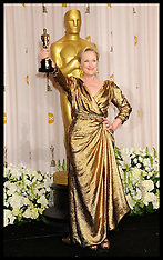 Meryl Streep wins Best Actress at the Oscars 2012
