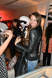 ISABELLA BRODEN at a party to celebrate the launch of Baar & Bass, 336 Kings Road, London on 9th September 2014.