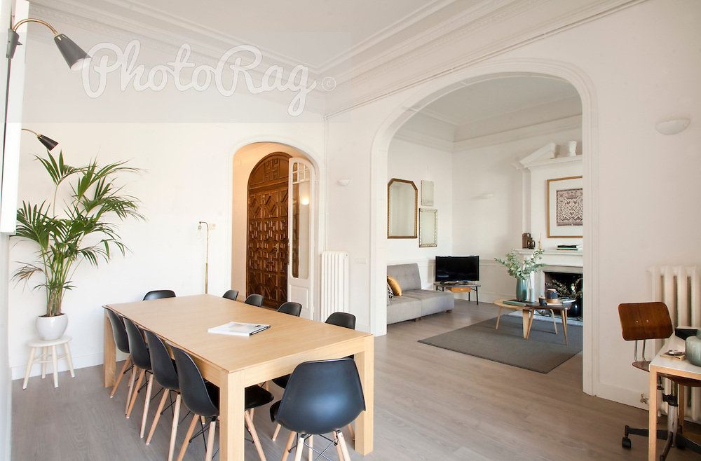 Photography by Joe Lasky an design and interiors by Antique & Boutique Barcelona.