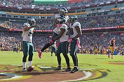The Washington Redskins beat the Philadelphia Eagles 27-20 at FedEx Field on October 16, 2016 in Landover, Pennsylvania. (Photo by Drew Hallowell/Philadelphia Eagles)