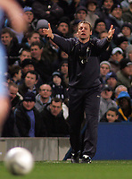 Photo: Paul Thomas.<br /> Manchester City v Sheffield Wednesday. The FA Cup. 16/01/2007.<br /> <br /> Stuart Pearce, manager of Man City.