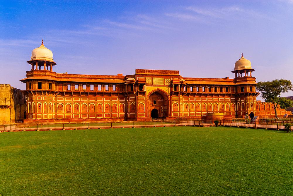 Jehangiri Mahal in the Agra Fort (Red Fort of Agra), Agra, Uttar Pradesh, India