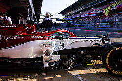 March 1, 2019 - Barcelona, Barcelona, Spain - Kimi Raikkonen from Finland with 07 Alfa Romeo Racing in action during the Formula 1 2019 Pre-Season Tests at Circuit de Barcelona - Catalunya in Montmelo, Spain on March 1. (Credit Image: © Xavier Bonilla/NurPhoto via ZUMA Press)
