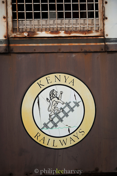 The railway museum in Nairobi, Kenya. The railway is rich with history, and integral in the developement of the country after being colonised by the British in the 19th century