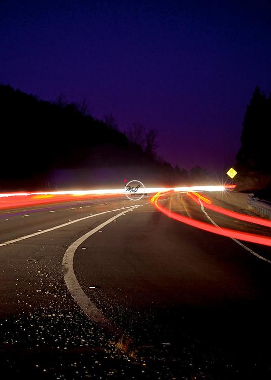 Taillight Trails Harrodsburg Indiana