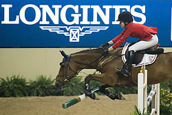 Dinan Katherine, (USA), Stakorado<br /> Longines FEI World Cup™ Jumping Final I<br /> Las Vegas 2015<br />  © Hippo Foto - Dirk Caremans<br /> 17/04/15