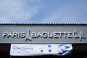 Paris Baguette Cafe hosts their Grand Opening Ribbon Cutting Ceremony at Paris Baguette Cafe in Milpitas, California, on May 16, 2014. (Stan Olszewski/SOSKIphoto)