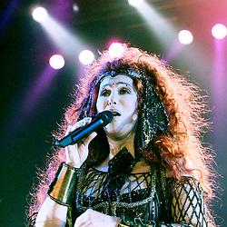 Cher in concert in 1999