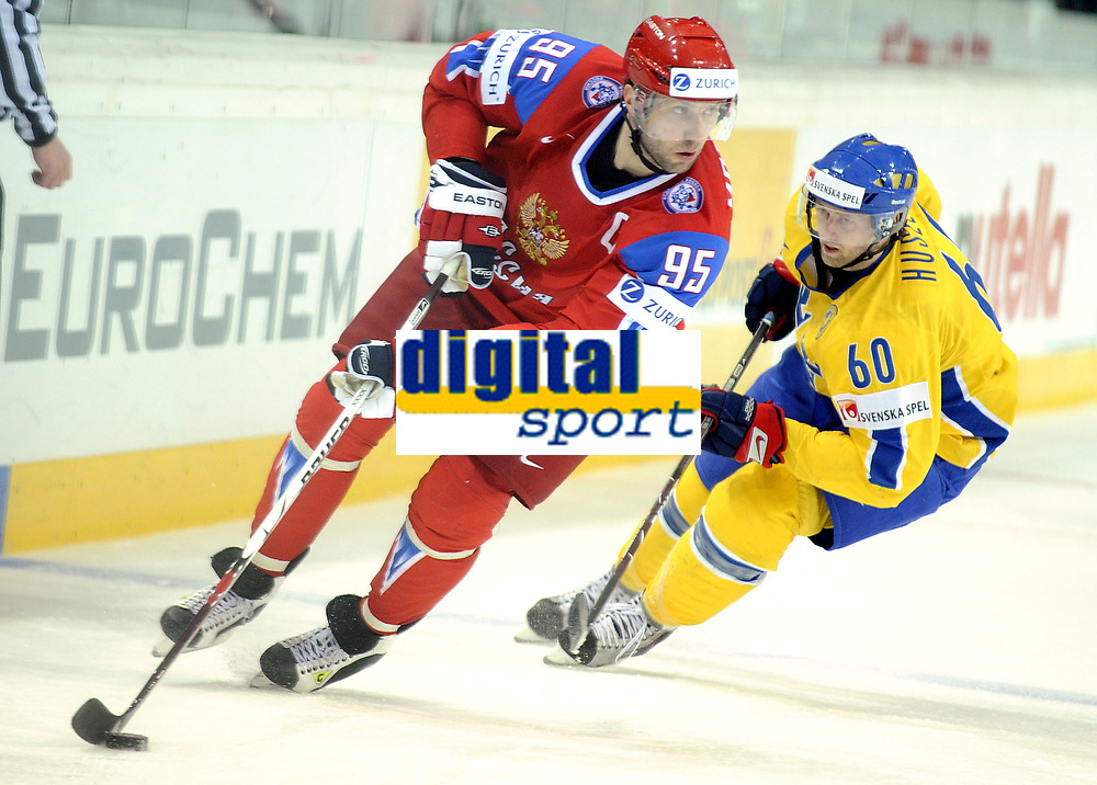 Alexei Morozov (RUS) gegen  Kristian Huselius (SWE) © Melanie Duchene/EQ Images