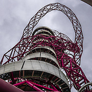 London,England,UK : 1st July 2016 : Londonders attend the The Slide & Arcelormittal Orbit combined for about 30 second ride from the top to the bottom open just a weeks with about 250 attended a day at the Queen Elizabeth Olympic Park, London. Photo by See Li