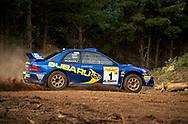 Possum Bourne & Craig Vincent - Subaru lmpreza WRC 98 - Saxon Safari Tasmania - ARC- 11th-12th September 1999