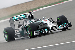19.04.2014, International Circuit, Shanghai, CHN, FIA, Formel 1, Grand Prix von China, Qualifying Tag, im Bild Nico Rosberg (GER) Mercedes AMG F1 W05. // during the Qualifyingday of Chinese Formula One Grand Prix at the International Circuit in Shanghai, China on 2014/04/19. EXPA Pictures © 2014, PhotoCredit: EXPA/ Sutton Images/ Mina<br /> <br /> *****ATTENTION - for AUT, SLO, CRO, SRB, BIH, MAZ only*****