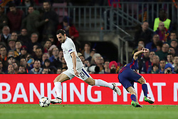 March 14, 2018 - Barcelona, Spain - DAVIDE ZAPPACOSTA of Chelsea FC during the UEFA Champions League, round of 16, 2nd leg football match between FC Barcelona and Chelsea FC on March 14, 2018 at Camp Nou stadium in Barcelona, Spain (Credit Image: © Manuel Blondeau via ZUMA Wire)