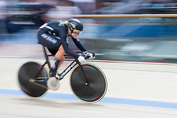 February 28, 2019 - Pruszkow, Poland - Olivia Podmore (NZL) on day two of the UCI Track Cycling World Championships held in the BGZ BNP Paribas Velodrome Arena on February 28, 2019 in Pruszkow, Poland. (Credit Image: © Foto Olimpik/NurPhoto via ZUMA Press)