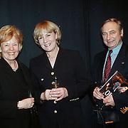 Musical Olivier Amsterdam, oa Anne Wil Blankers en haar man Ger van Klaveren