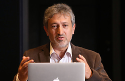 Professor Garik Israelian at The Royal Society in London speaking at a press conference previewing the Starmus science and arts festival taking place in Norway next month.
