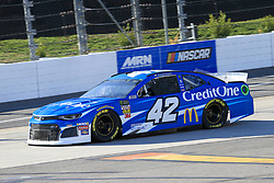 March 23, 2019 - Martinsville, VA, U.S. - MARTINSVILLE, VA - MARCH 23:  #42: Kyle Larson, Chip Ganassi Racing, Chevrolet Camaro Credit One Bank during practice for the STP 500 Monster Energy NASCAR Cup Series race on March 23, 2019 at the Martinsville Speedway in Martinsville, VA.  (Photo by David J. Griffin/Icon Sportswire) (Credit Image: © David J. Griffin/Icon SMI via ZUMA Press)