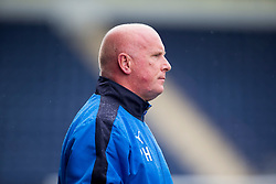 Falkirk's manager Peter Houston. Falkirk 3 v 1 East Fife, Petrofac Training Cup played 25th July 2015 at The Falkirk Stadium.