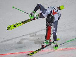 """29.01.2019, Planai, Schladming, AUT, FIS Weltcup Ski Alpin, Slalom, Herren, 2. Lauf, im Bild Sebastian Foss-Solevaag (NOR) // in action during his 2nd run of men's Slalom """"the Nightrace"""" of FIS ski alpine world cup at the Planai in Schladming, Austria on 2019/01/29. EXPA Pictures © 2019, PhotoCredit: EXPA/ Erich Spiess"""